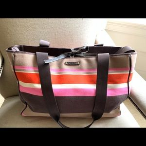 Kate spade diaper bag/overnight bag